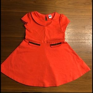 Janie & Jack Orange Dress